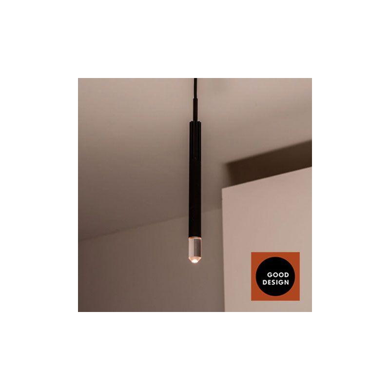 BEISIK LED Pendelleuchte Candle LH1 Schwarz / 7 Watt