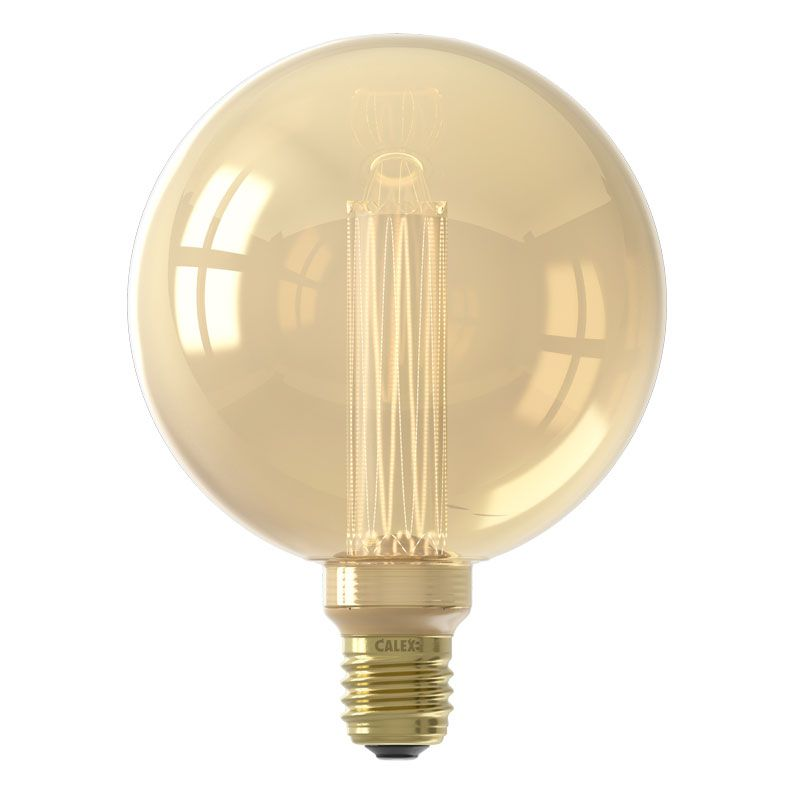Calex Globe G125 Gold Crown / LED/ E27