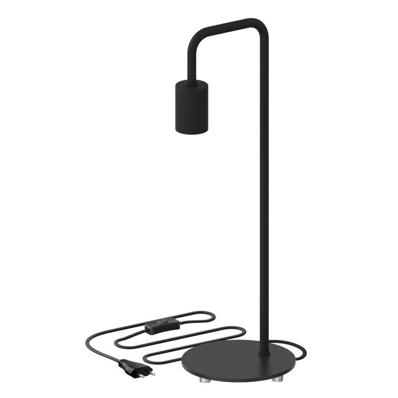Tischleuchte 'Simple', schwarz