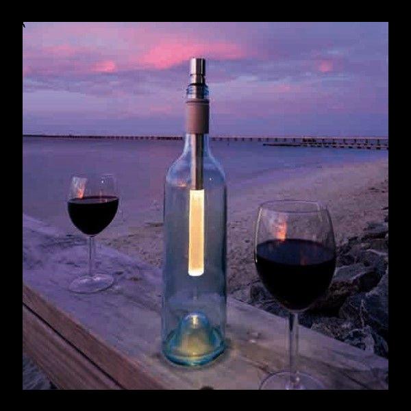 Flaschenlicht LED, dimmbar, batteriebetrieben