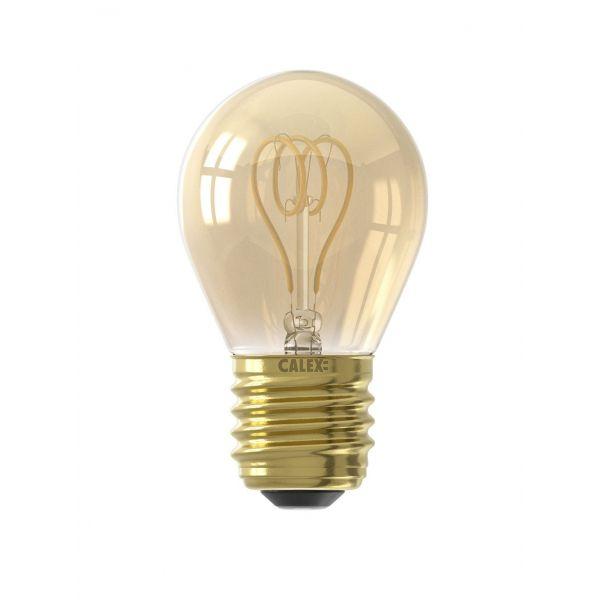 Calex LED Flex Filament Ball lamp curly P45