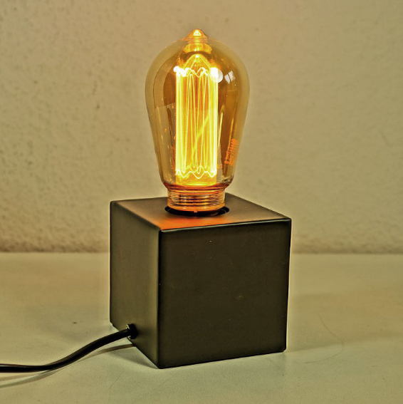 Die neue Calex Glasfaser-Lampe Rustik ST64 / E27