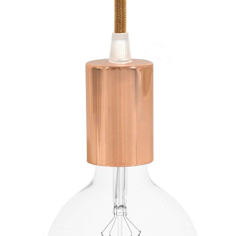 Metall Lampenfassung / Kupfer