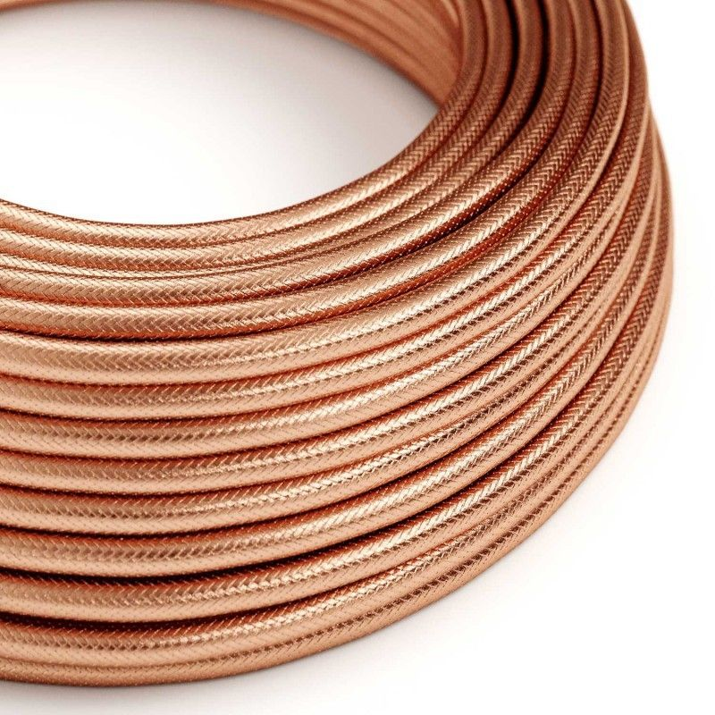 Textilkabel 3x0.75mm / Copperfield Kupfergeflecht