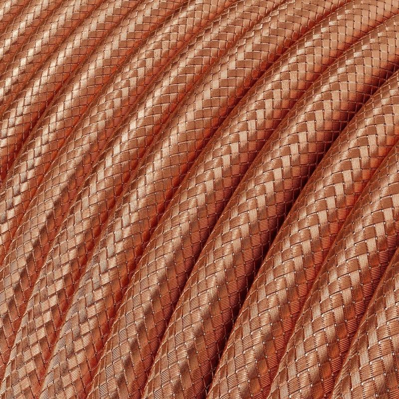 Textilkabel 3x0.75mm / Copperfield Kupfergeflecht