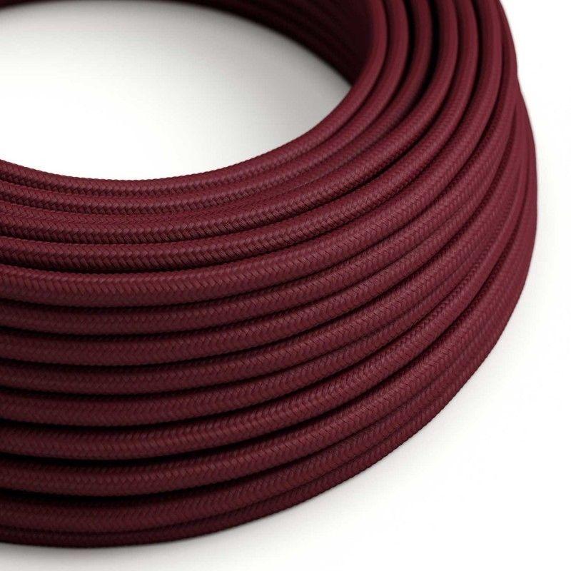 Textilkabel 5x0.75mm / Bordeaux