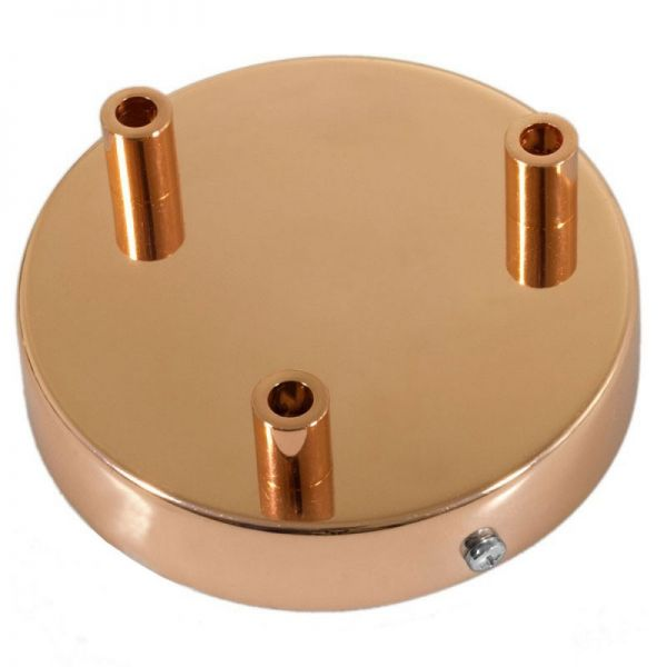 3 Loch Metall Baldachin Kit / Kupfer / Zugentlastung Metall