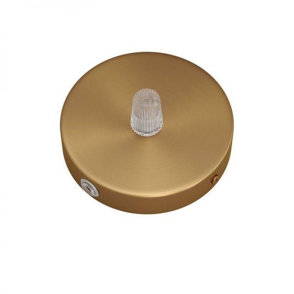 5 Loch Metall Baldachin Kit / bronze satiniert / Zugentlastung Kunststoff