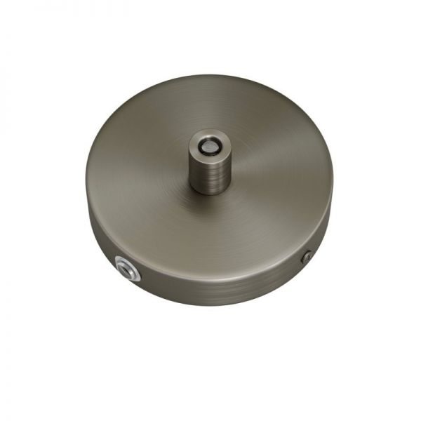 5 Loch Metall Baldachin Kit / titan satiniert / Zugentlastung Metall