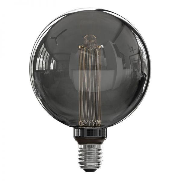 Calex Globe G125 Titanium Crown / LED/ E27