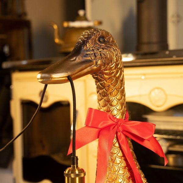 Stehleuchte Ducky, gold