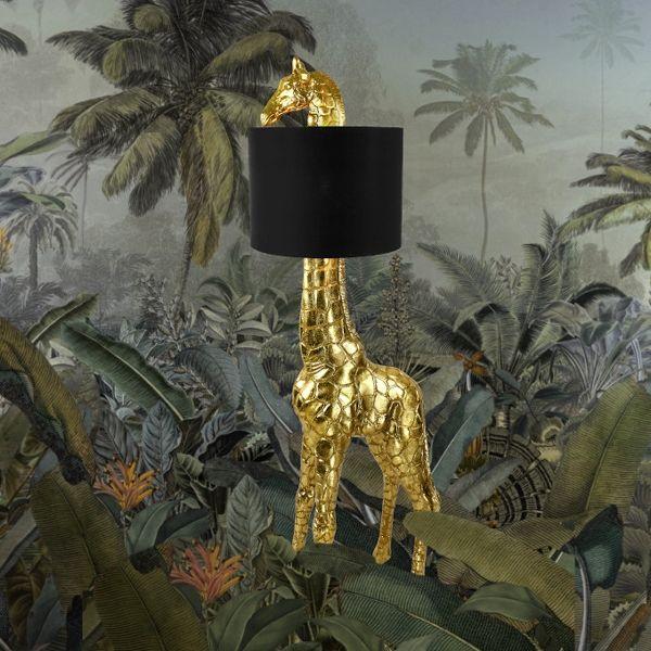 Stehleuchte Giraffe Gigi, gold