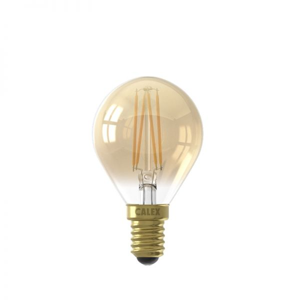 Calex LED Flex Filament Ball lamp P45 E14