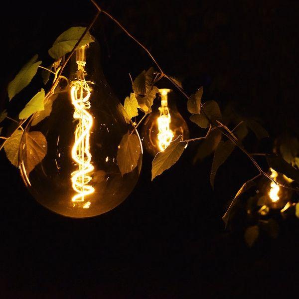 Outdoor LED Birne PS125, batteriebetrieben