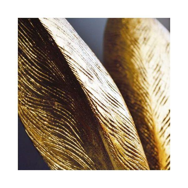 Tischleuchte Hiding Bunny Gold/Schwarz