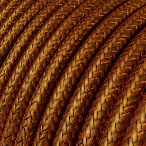 Textilkabel 3x0.75mm / Kupfer Metallic